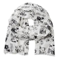 Moomin on vacation scarf by Lasessor - The Official Moomin Shop