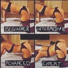 beginner -> intermediate -> advanced -> expert