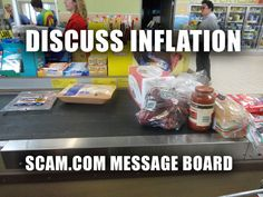 Inflation - http://www.scam.com  < - - - Click There .   Use this royalty free image on your website or blog and help protect the internet from all the scammers on the internet. Fight back against scammers and educate yourself!    6 Years, 300,000 members almost 1 million posts and still strong!