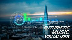 Futuristic Music Visual  • See it in action ➝…