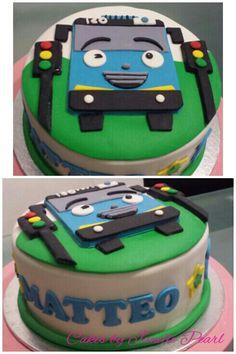 Tayo Bus Cake