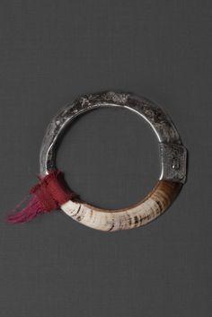 "munan15: "" Ewa Jewelry Old Tusk Bracelet """