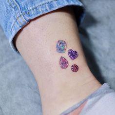60 Unique Small Watercolor Tattoos For Women - : 60 Unique Small Watercolor Tattoos For Women - Millions Grace Girly Tattoos, Mini Tattoos, Unique Tattoos, Beautiful Tattoos, Tribal Tattoos, Celtic Tattoos, Tatoos, Tattoo Inc, Juwel Tattoo