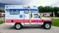Land Rover Defender Mountain Rescue Ambulance