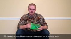 I show you in this video how to use a 2 liter plastic bottle to make a minnow trap.