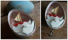 sailboat Easter Egg