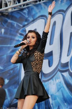 With your love: The British star Cher Lloyd has enjoyed great success following her stint on the UK version of The X Factor