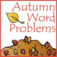I love word problems. I think it's the math lover in me. But I also … Free Autumn/Fall Word Problems Read Preschool Lesson Plans, Preschool Activities, Preschool Age, Third Grade Math, Grade 1, Second Grade, Fall Words, Kindergarten Themes, Compound Words