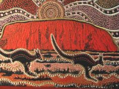 traditional artwork with animals asia | austrila aborigional art projects for kids - australian aboriginal art ...
