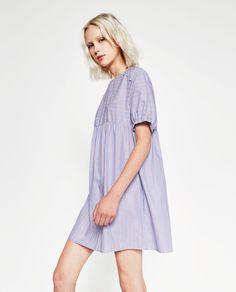 ZARA - WOMAN - STRIPED FULL DRESS