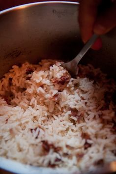@Easy Eats: Rice with Rose Petals Recipe