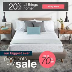 20% off all things home**