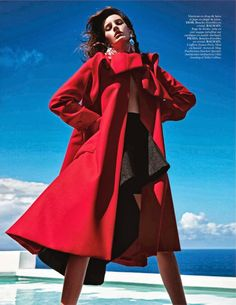 Extrême photographed by Mario Sorrenti appears in Vogue Paris October 2013.