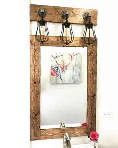 wood framed vanity mirrors weathered wood rustic distressed frame mirror wood rustic bathroom farmhouse vanity small large mirrors 107 best mirrors framed handmade
