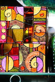 Glas Bemalen Ideen Verschiedene Techniken Und Vorlagen 3