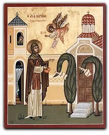 """The Miraculous Apples"" -Makes Miracles come true- Lives Of The Saints, Art Icon, Orthodox Icons, Renaissance Art, Roman Catholic, Religious Art, Narnia, Illustration, Artwork"