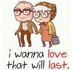 Cute pic old couple love life