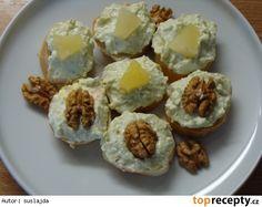 Sýrová pomazánka s avokádem Ham, Sushi, Muffin, Brunch, Appetizers, Low Carb, Snacks, Breakfast, Ethnic Recipes