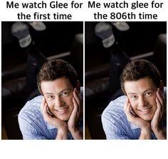Tv Memes, Glee Memes, Glee Cast, It Cast, Blaine And Kurt, Cartoon Movies, Ex Boyfriend, Funny Things, Beautiful People
