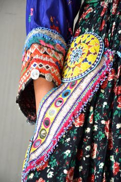 Wonderful gypsy dress floral cotton with hand beaded bib bohemian tassels coins and full dance skirt by Faerymother on Etsy https://www.etsy.com/listing/221455695/wonderful-gypsy-dress-floral-cotton-with