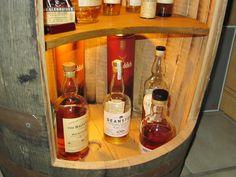 Whiskeyfass als Flaschenregal Bauanleitung zum selber bauen