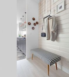 Scandinavian-Inspired Entryway Decor | ComfyDwelling.com