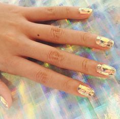 Glass Nail Art Is the Latest Korean Beauty Craze You Need to Try