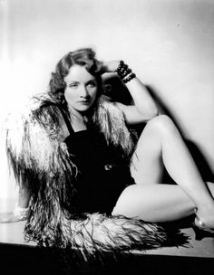 Marlene Dietrich in a photo by Josef von Sternberg, 1930