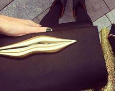 Diane von Furstenberg bag details, look of the day