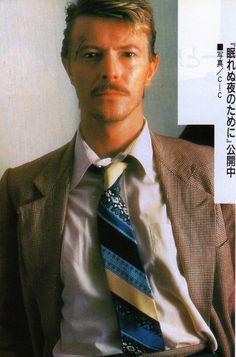 "David Bowie /  ""Into The Night"" (1985  //// http://watch-that-man.tumblr.com/post/115339260208/db-ninja-david-bowie-into-the-night-1985"