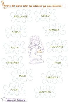 Razonamiento Verbal   2º Grado de Educación Primaria   Sinónimos:  Capacidad: Analiza y selecciona correctamente.  Marca con una X el sinó...