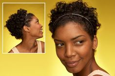 17 Hairstyles That Take Less Than 10 Minutes- including stuff for curly hair! 5 Minute Hairstyles, Braided Hairstyles, Cool Hairstyles, Mermaid Hairstyles, Headbands For Short Hair, Easy Updos For Long Hair, High Ponytail Braid, Locks, Curly Hair Styles