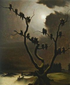"""""""Ghosts On The Tree"""", by Franz Sedlacek (1933)"""