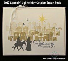 2017 Stampin' UP! Holida Catalog Sneak Peek