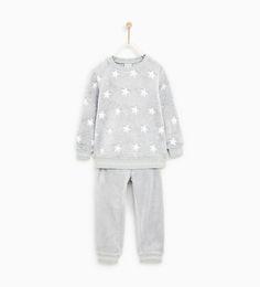 c2662cd85e5e Image 1 of STAR FLEECE PAJAMAS from Zara Fleece Pajamas, Boys Pajamas,  Pyjamas,