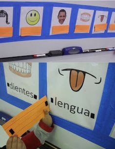 Teaching the Parts of the Face / Partes de la Cabeza | Spanish Simply