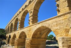 Pont du Gard Roman aqueduct - learning about the water system in Ancient Rome. Mystery of History Volume 1, Lesson 101 #MOHI101