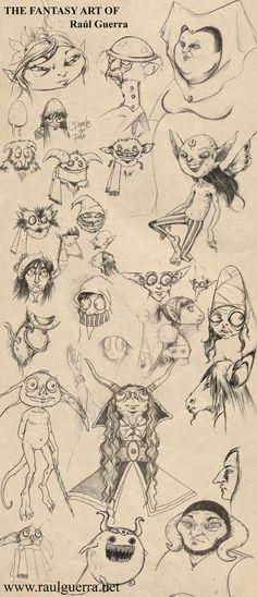 Magic Creatures IX by chicourano.devian...