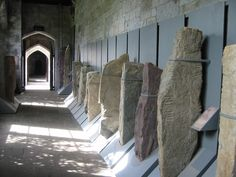 collection of ogham stones