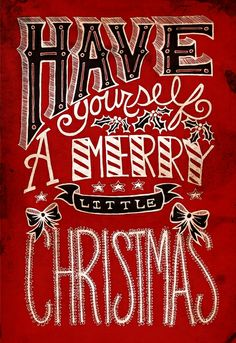 HAVE YOURSELF A MARRIED LITTLE CHRISTMAS WEDDING | Have Yourself A Merry Little Christmas Art Print by POP! Store ...