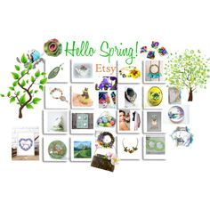 Hello Spring! Handmade Gifts by hobbyshop2015 on Polyvore featuring polyvore, Gorham, Handle, modern, rustic, vintage, fashion, style and clothing