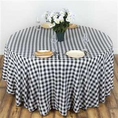 Beautiful Fancy Round Tablecloth