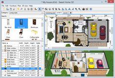 Sweet Home 3D - Dessinez vos plans d'aménagement librement