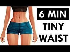 ❤️ How To Get A Smaller Waist and Bigger Hips | 4 Workouts For Tiny Waist and Wider Hips! - YouTube