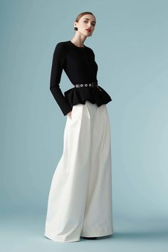 Black and white, palazzo pants