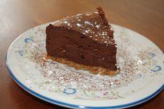 Echt eten, puur koken: Chocoladetaart voor de 40e verjaardag van Schatje - suikervrij dat dan weer wel....