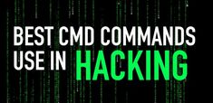 #CMD #Commands #Hacks List of Top 100 CMD commands For windows
