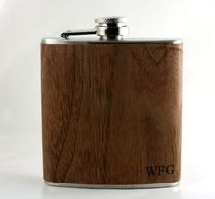 Hey, I found this really awesome Etsy listing at https://www.etsy.com/listing/177901207/flask-real-wood-wrapped-metal-flask-with
