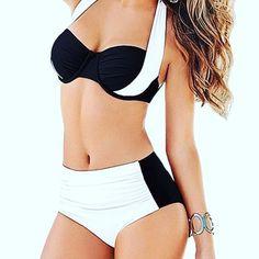 Damen Oberteile Neu Oberteil Badeanzug Urlaub Bandage Push-Up Beachwear Boho