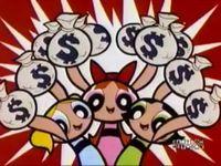 Image result for powerpuff girls money